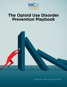 The Opioid Use Disorder Prevention Playbook
